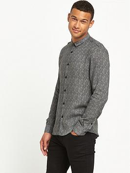 river-island-long-sleeve-geo-print-shirt
