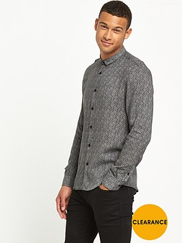 river-island-long-sleeve-geo-print-shirt