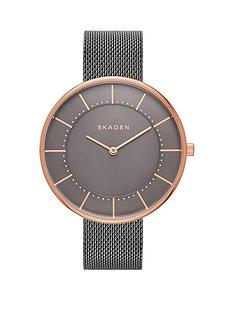 skagen-gitte-grey-dial-grey-mesh-stainless-steel-strap-ladies-watch