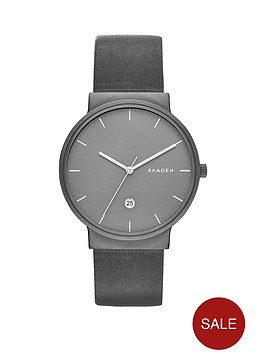 skagen-ancher-black-date-dial-black-leather-strap-mens-watch