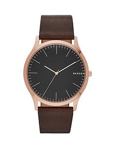 skagen-jorn-black-dial-black-strap-mens-watch