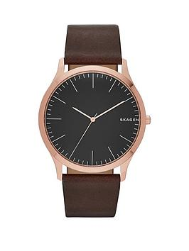 skagen-jorn-black-dial-black-strap-mens-watch
