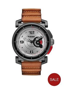 diesel-diesel-on-dzt1002-silver-dial-tan-strap-smart-watch