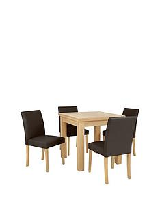 square-to-rectangle-80-160-cm-extending-dining-table-4-lucca-chairs