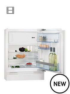 aeg-sks58240f0-815cm-high-60cm-wide-integrated-under-counter-fridge-with-ice-box-white