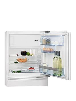 Aeg Sks58240F0 81.5Cm High 60Cm Wide Integrated Under Counter Fridge With Ice Box  White