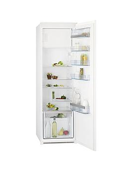 Aeg Sks61840S1 177Cm High 55Cm Wide Integrated Upright Fridge With Ice Box  White