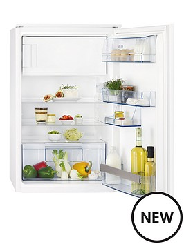 aeg-sks58840s2-87cm-high-55cm-wide-integrated-upright-fridge-with-ice-box-white