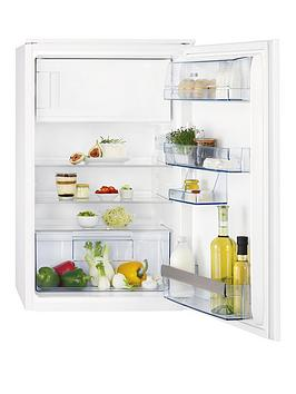 Aeg Sks58840S2 87Cm High 55Cm Wide Integrated Upright Fridge With Ice Box  White