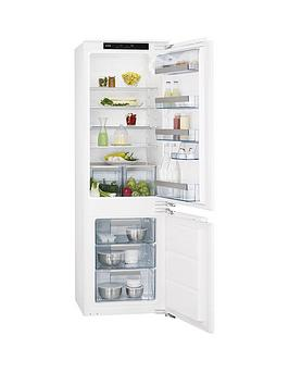 Aeg Scs71801F1 177Cm High 55Cm Wide Integrated Fridge Freezer  White