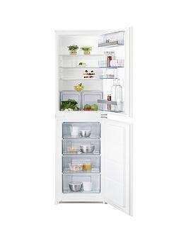 Aeg Scs51810S1 177Cm High 55Cm Wide Integrated Fridge Freezer  White