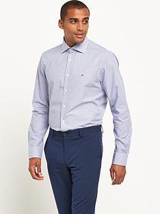 tommy-hilfiger-small-logo-check-shirt