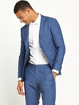 Tommy Hilfiger Micro Texture Blue Suit Jacket