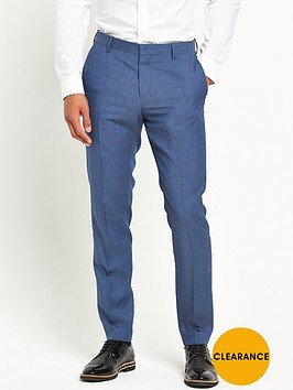 tommy-hilfiger-tommy-hilfiger-micro-texture-blue-suit-trouser