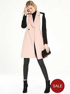 v-by-very-colour-block-crepe-coat