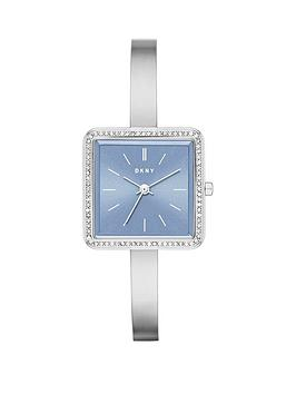 dkny-stonewall-blue-dial-stainless-steel-bracelet-ladies-watch