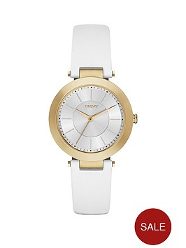 dkny-stanhope-20-white-leather-strap-ladies-watch