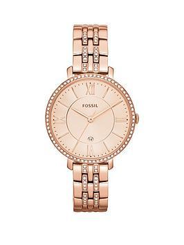 fossil-jacqueline-rose-gold-glitz-bracelet-ladies-watch