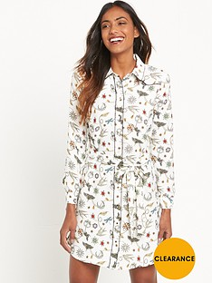 river-island-printed-shirt-dress-white