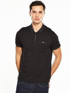 ted-baker-zip-placket-polo-shirt