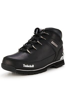 Timberland Timberland Euro Sprint Hiker Boot  Black