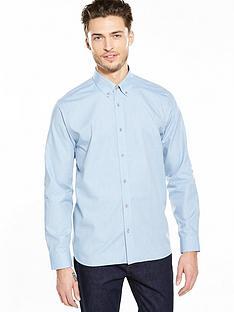ted-baker-tonal-spot-ls-shirt