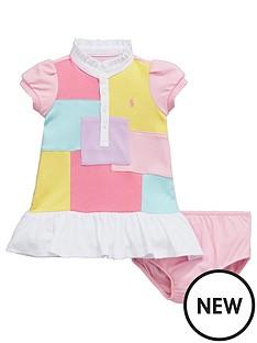 ralph-lauren-baby-girls-short-sleeve-patchwork-dress-and-briefs-set-2-piece