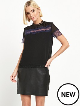 river-island-short-sleeve-lace-top