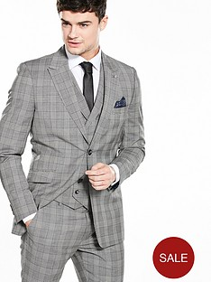 ted-baker-mensnbspsaigonj-check-suit-jacket