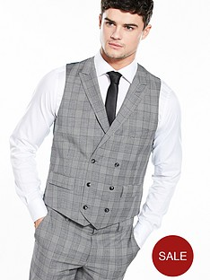 ted-baker-mensnbspcheck-waistcoat