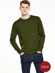 tommy-hilfiger-compact-crew-neck-jumper