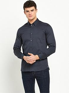 ted-baker-longsleeve-geo-print-shirt