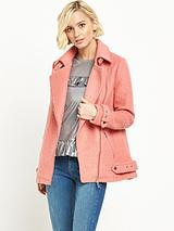 Aviator Jacket - Pink