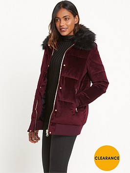 river-island-velvet-padded-coat