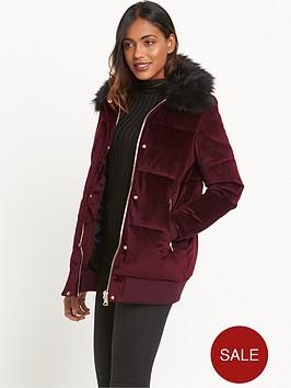 river-island-velvet-padded-coat