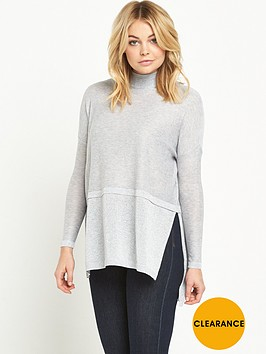 river-island-high-neck-longline-hybrid-jumper