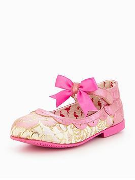 Irregular Choice Girls Angel Wings Shoe