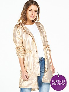 v-by-very-petite-petite-metallic-parka-coat-gold