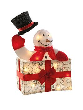 animated-snowman-in-gift-box