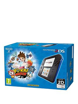 Nintendo 2Ds 2Ds Blue Console With Yo Kai Watch