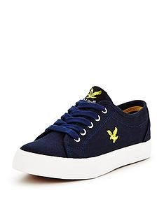 lyle-scott-lyle-amp-scott-boys-teviot-canvas-shoe