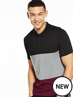 v-by-very-colourblock-polo-t-shirt