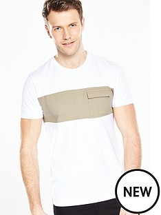 v-by-very-short-sleeve-cut-and-sew-t-shirt