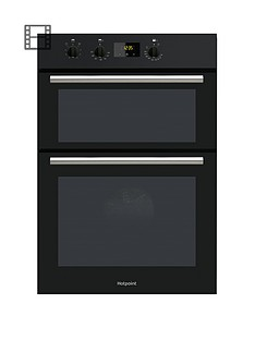 hotpoint-dd2540bl-60cm-electric-built-in-double-oven