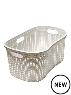addis-faux-rattan-40lt-hipster-laundry-basket