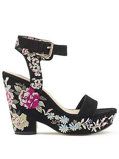miss-selfridge-embroidered-wedge-sandal