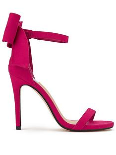 miss-selfridge-pink-bow-sandal