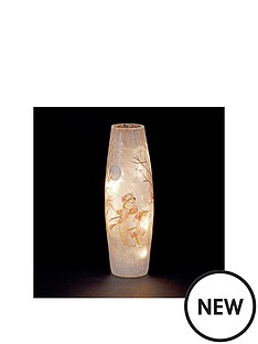 lit-glass-christmas-vase-with-snowmen