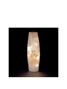 lit-glass-christmas-vase-with-snowmen