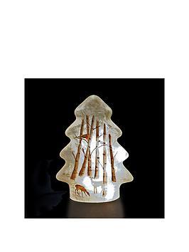 led-glass-tree-with-woodland-christmas-scene